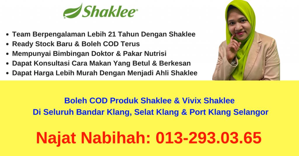 Agen-Pengedar-Stokis-ejen-produk-shaklee-vivix-boleh-COD-Bandar-Klang-Port-Klang-Selat-Klang-Selangor
