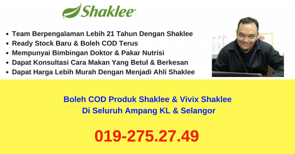 pengedar-stokis-agen-cawangan-branch-distributor-produk-vivix-shaklee-boleh-COD- ampang-selangor-KL