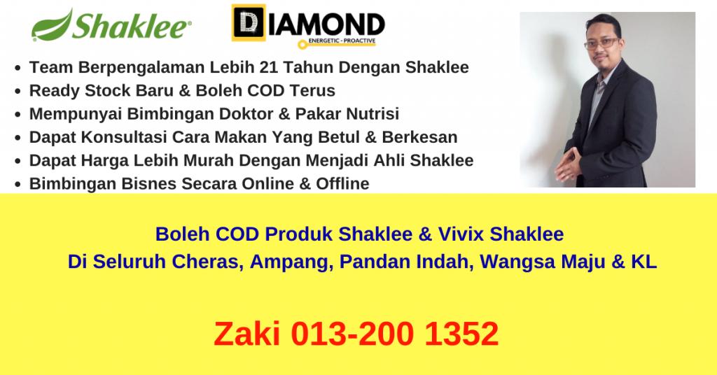 pengedar-stokis-agen-ejen-cawangan-branch-distributor-produk-vivix-shaklee-boleh-COD-ampang-cheras-wangsa-maju-pandan-indah-zaki