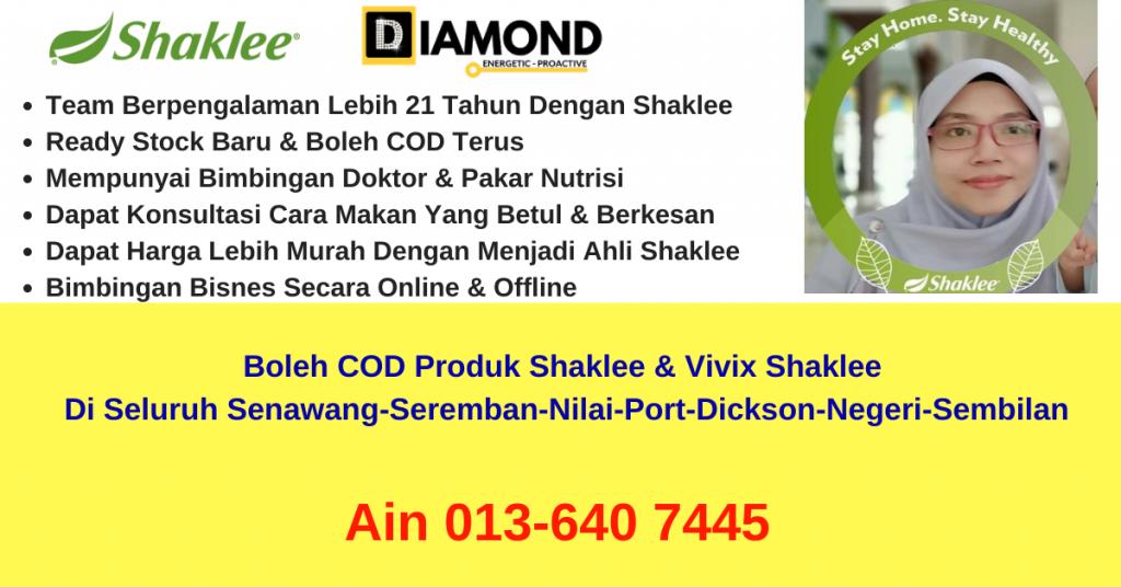 pengedar-stokis-agen-ejen-cawangan-branch-distributor-produk-vivix-shaklee-boleh-COD-nilai-seremban-senawang-nilai-port-dickson-negeri-sembilan-ain