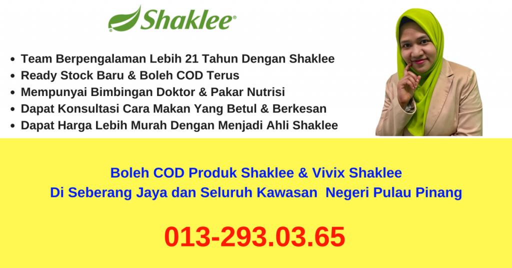 pengedar-stokis-agen-cawangan-branch-distributor-produk-vivix-shaklee-boleh-COD- seberang-jaya-penang-pulau-pinang